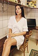 """Женское платье мини """"Одуванчик"""" - белое, розовое, оранж, фото 9"""