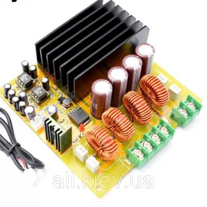 Підсилювач TAS5630 300W+300W стерео Amplifier Board with AD827 PREAMP-HIFI