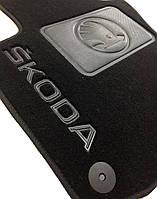 Коврики текстильные для Skoda Octavia A5 2004-12г., Премиум 3D