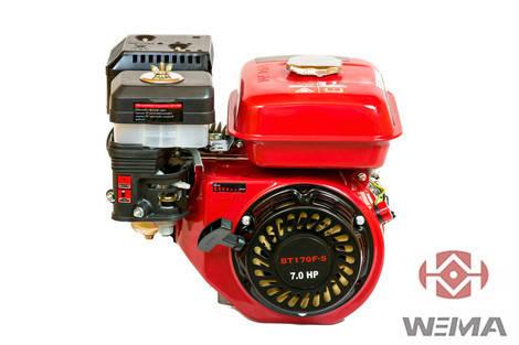 Двигатель бензиновый WEIMA BT170F-Q (вал под шпонку), фото 2