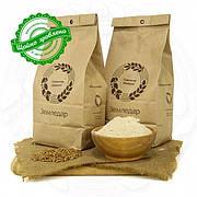 Пшеничная цельнозерновая жерновая мука в пакете