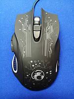 Игровая мышь iMice X9 6 кнопок 2400 DPI Black, фото 1