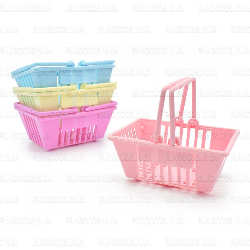 Набор пластиковых мини корзинок 4шт ER-103