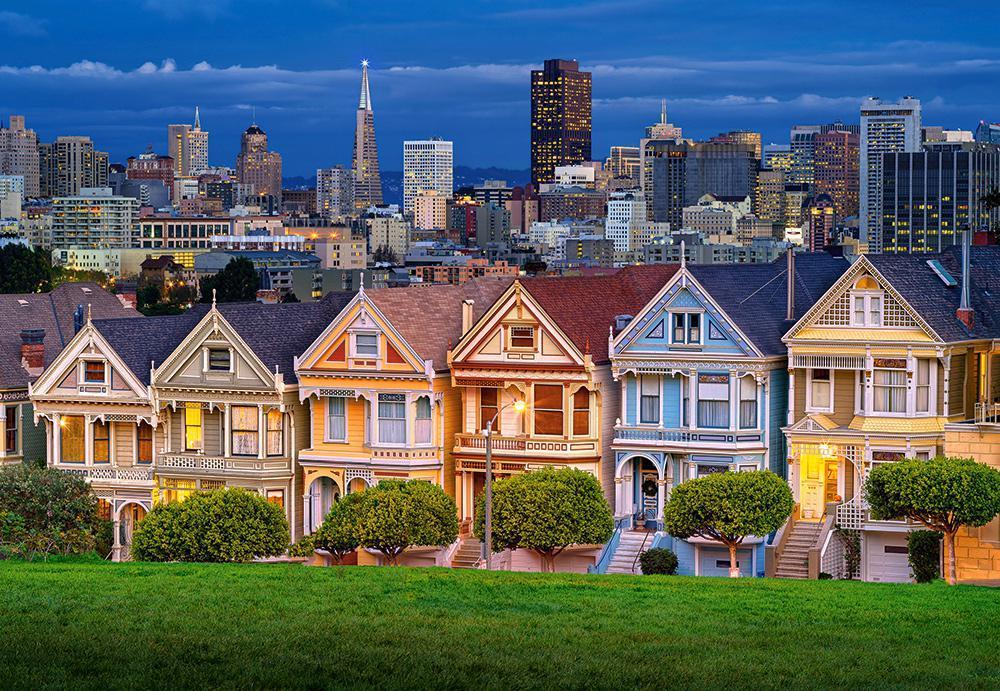 Пазлы Сан-Франциско, 1000 эл.