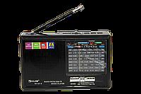 Радиоприемник Golon RX-321 BT c Фонариком Bluetooth MP3 USB FM SD, фото 1