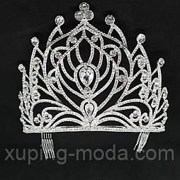 Высокая диадема, корона для мисс. Корона для конкурса красоты