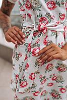 Стильное платье миди с принтом - две расцветки, фото 4