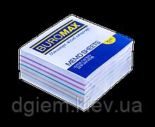 Блок бумаги для записей РАДУГА 90х90х40мм, не склеенный