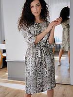 Женское платье Кулиска змеиный принт, фото 4