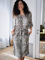 Женское платье Кулиска змеиный принт, фото 5