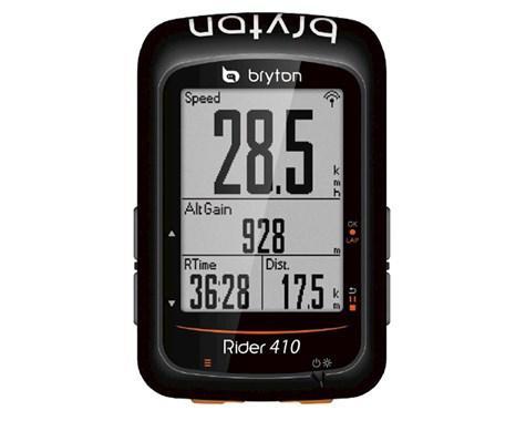 Велокомпьютер Bryton Rider 410 E черный (GT)