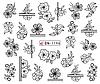 Слайдер водный для дизайна ногтей BN-1196