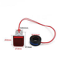 Вольтметр - амперметр цифровой переменного тока квадратный красныйиндикатор ST 914R