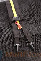 Защитная сетка 14 фт 425-435 см, 8 столбиков, внешняя, фото 3