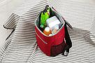 Терморюкзак сумка холодильник (красный), фото 2