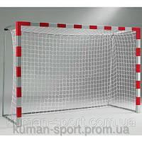 Сетка футбольная ЭКОНОМ ( Украина ) 7,5*2,55*1,05м, d-2,5; ячейка-15 см