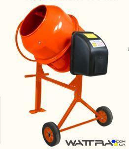 ⭐ Бетономешалка Orange СБ 9180П, бак 180л, готовая смесь 135л, 800Вт, вес 62,3 кг, упаковка 840X730X440