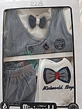 Подарочный набор на выписку для новорожденного  мальчика Miniworld, фото 2