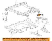 Сайлентблок переднего подрамника (балки) задний GM 84100300 0352867 13236666 0352122 13318428 Opel Insignia-A