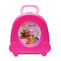 Дитячий дорожній горщик SUNROZ BP041 Travel Potty Рожевий (SUN5000)