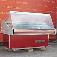 Холодильная витрина гастрономическая «Технохолод ВХС» 1.6 м. (Украина), детали заводские, Б/у, фото 1
