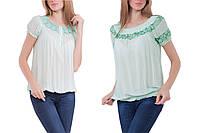 ЦЕНОВОЙ ХИТ! Блуза цвета пастельной мяты, пр-во Италия