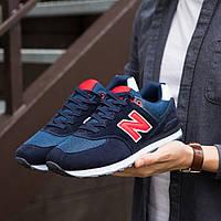 Кроссовки мужские New Balance (Фешн Беленс темно-сині )\\Обувь без бренда
