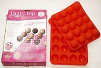 Силиконовая форма для конфет (кейк-попсов) Tasty Top
