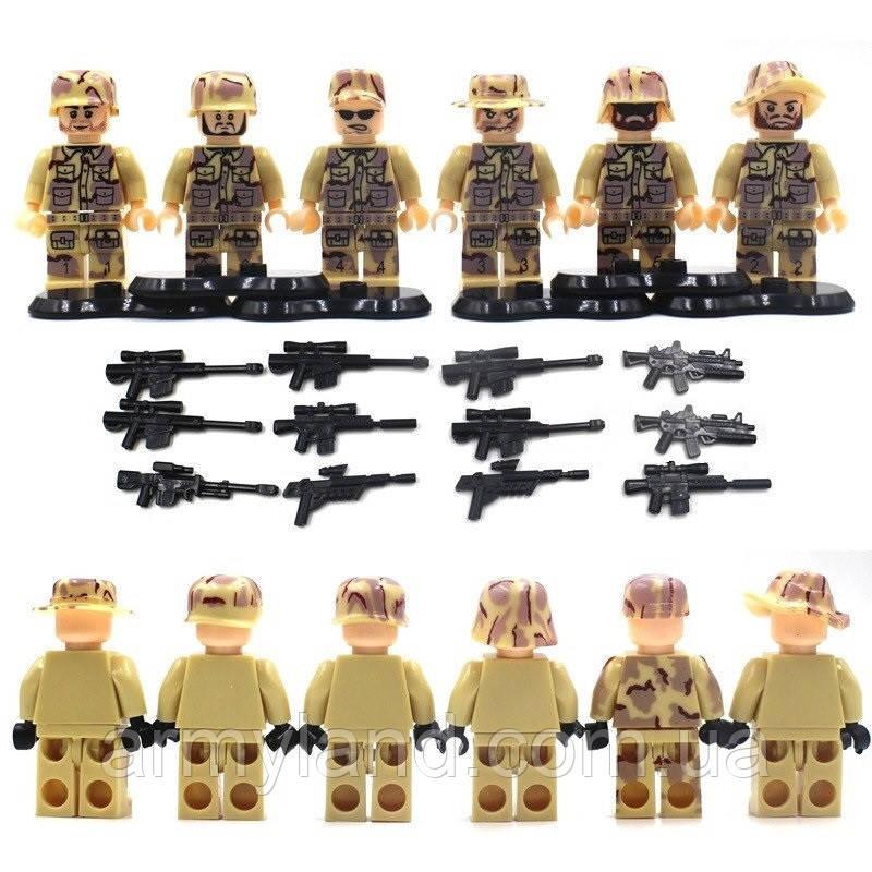 Отряд Коммандос SWAT военный конструктор