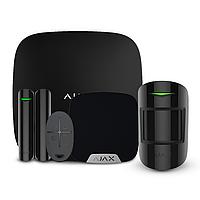 Комплект беспроводной сигнализации Ajax StarterKit + HomeSiren black