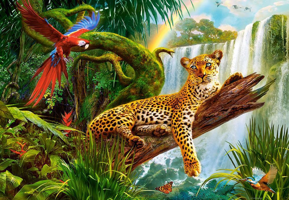Пазлы Леопард, 1000 эл.