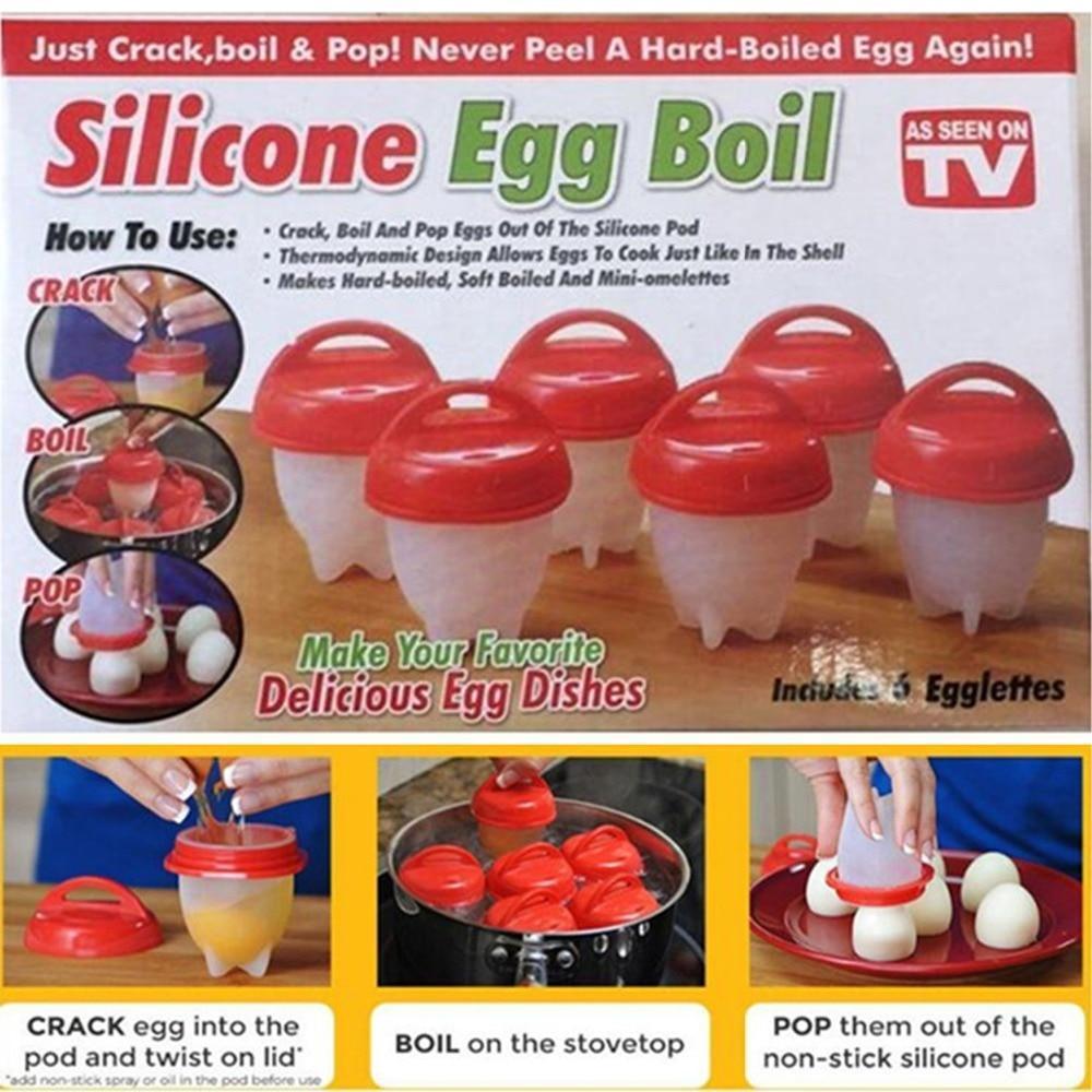 Формы для варки яиц Silicon Egg Boil