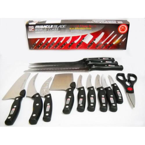 Набор профессиональных ножей Miracle Blade World Class 13 шт.