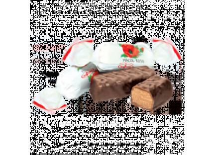 """Молдавские шоколадные конфеты """"MACUL ROȘU"""" ТМ Букурия, фото 2"""