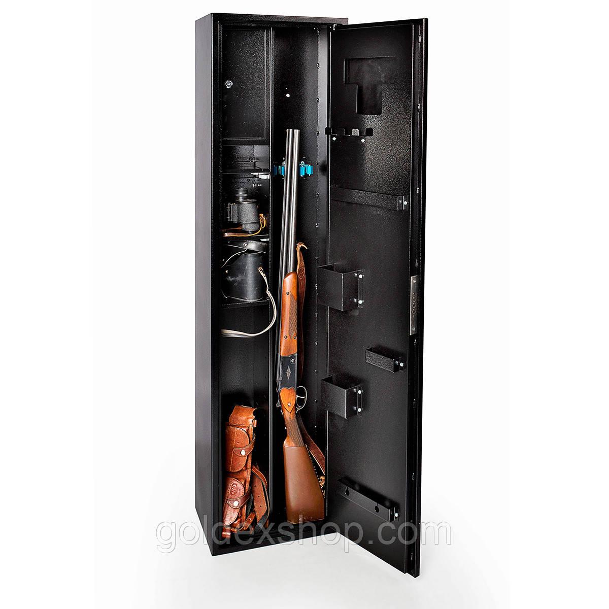 Сейф оружейный FEROCON Е-150К1.Т1.П3.9005 (высота 150 см)