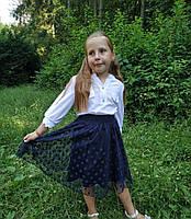 Школьная юбка на резинке Польша