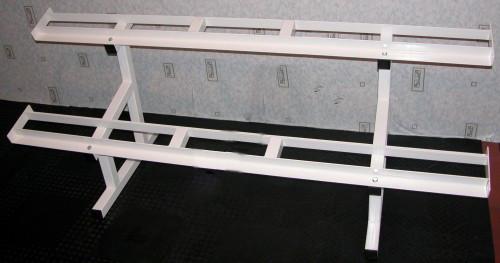Стойка-стеллаж для гантельного ряда (10 пар)
