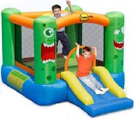 """Детский надувной батут игровой центр аттракцион """"Монстр"""" Happy Hop"""