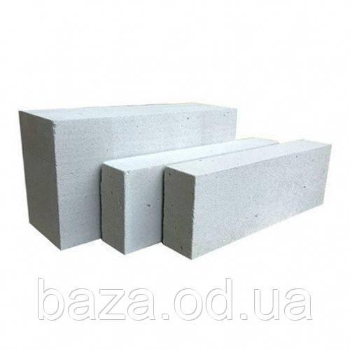 Газобетон, піноблок D400 10х30х60 см