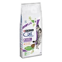 Сухой корм для выведения шерсти у кошек Cat Chow Hairball Control 15 кг (курица)