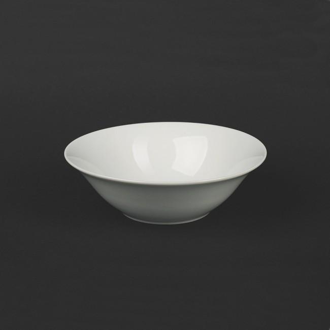 Салатник белый фарфоровый 175мм