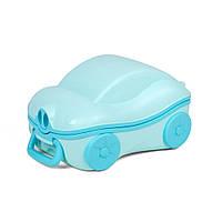 Дитячий дорожній горщик SUNROZ BP041 Travel Potty Блакитний (SUN5001)