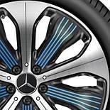 Оригинальные 20 - дюймовые диски для Mercedes EQC - Class, фото 2