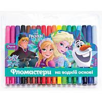 "Фломастеры 18 цветов ""Frozen"""