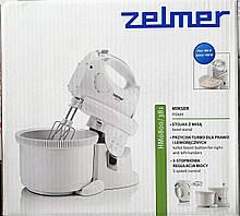 Надежный миксер с чашей Zelmer ZHM0806S (венчик для взбивания, для приготовления пюре; насадка для смешивания), фото 3