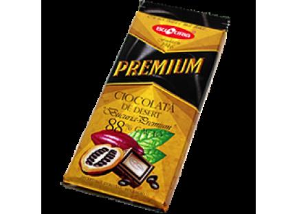 Молдавский горький шоколад BUCURIA PREMIUM 1/090 (MIGDALE, STAFIDE) ТМ Букурия