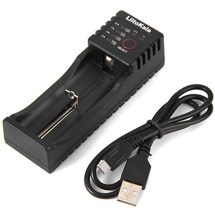 LiitoKala Lii-100 - Інтелектуальний зарядний пристрій. Оригінал , фото 2