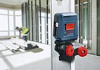 Лазерный Нивелир Bosch GLL 2 + Держатель Bosch MM2  красный луч