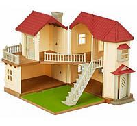 Дом со светом сильваниан фемелис Sylvanian Families Beechwood Hall 4531