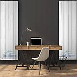 Дизайнерский вертикальный радиатор 1800/501 Terra Betatherm 10-12 м.кв., фото 2